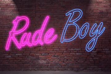 Neon Rude Boy