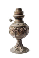 Old kerosene lamp
