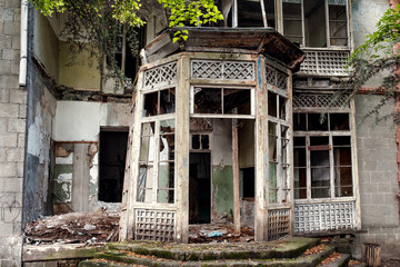 Old abandened house