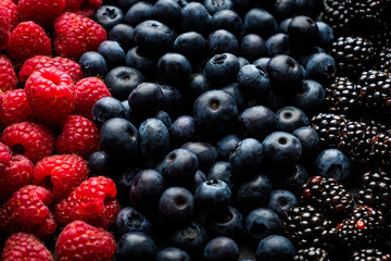 background of berries