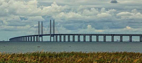 Öresundbrücke mit Blick nach Kopenhagen