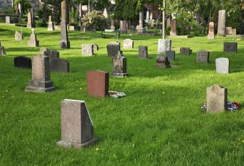 Cemetery of Our Saviour - Var Frelsers gravlund in Oslo. Norway