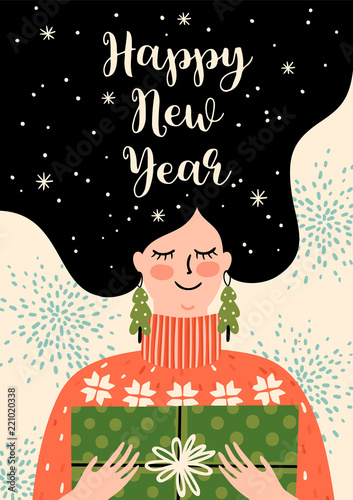 Happy New Year Illustration 34