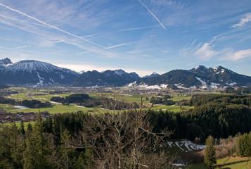 Die Allgäuer Alpen bei Eisenberg