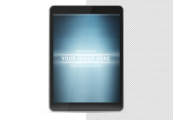 Tablet Mockup on White Background