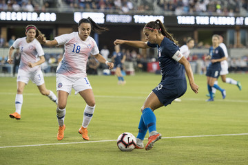 Soccer: International Friendly Women's Soccer-Chile at USA