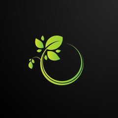 leaf logo icon