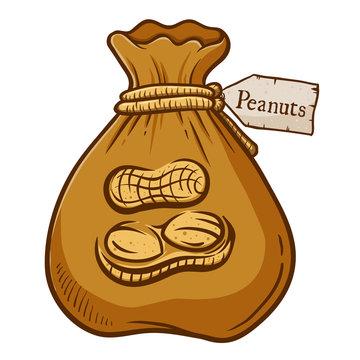 Brown Bag Full of Peanuts