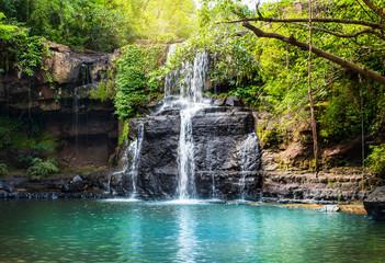 Waterfall in Koh Kood.