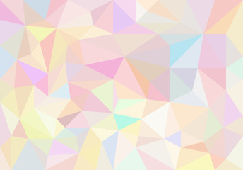 Illustration graphic polygon colorful abstract background