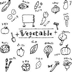 野菜のイラスト集