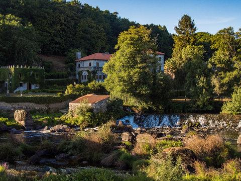 Ponte Maceira Village in Spain