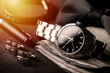 luxury men wristwatch