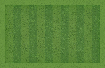 Green grass pattern and texture for sport and recreation background. Grass court background for soccer football. Vector.