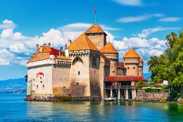 Chillon Castle near Montreux, Switzerland