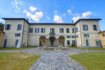 Rho, Milan: Villa Burba, historic building