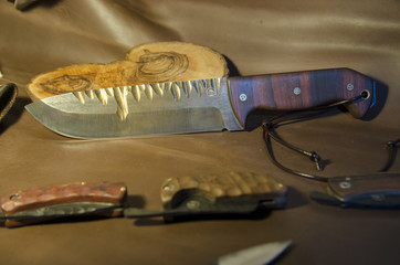Bushcraft Knife 1