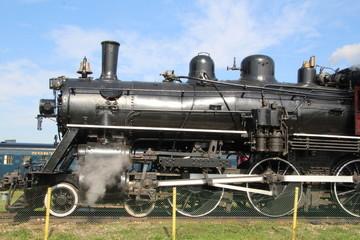 Broadside Of The Locomotive, Alberta Railway Museum, Edmonton, Alberta