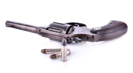 gun isolated on white background.