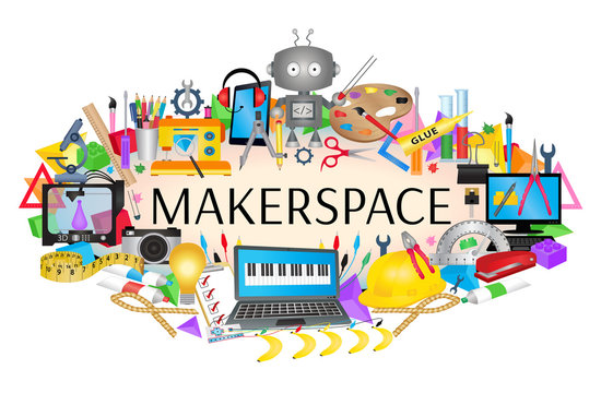 Makerspace banner - STEAM Education