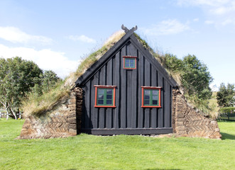 maison islandaise typique