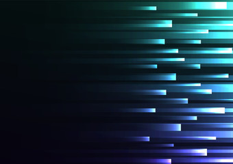 multicolor overlap pixel speed in dark background, geometric layer motion backdrop, simple technology template, vector illustration