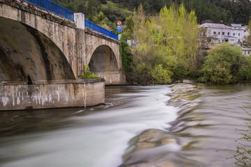Brücke am Rande von Villafranca del Bierzo - Auf dem Jakobsweg Camino Frances