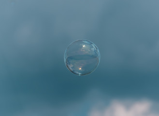 Bubble in the air
