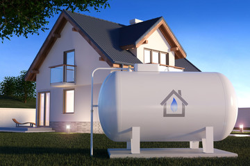 Gas Tank near house v2