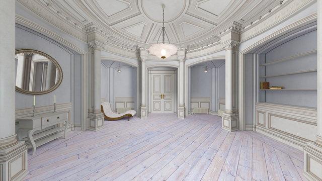 豪華な部屋