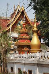 Wat Haysok (Haysoke) in Vientiane. Laos