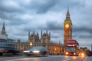 Wall Mural - Big Ben in the evening, London, United Kingdom