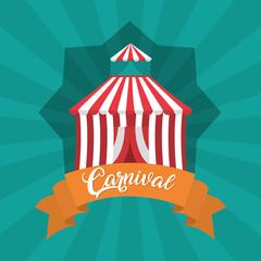 Carnival festival cartoons