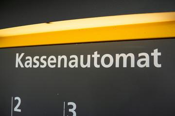 German pay machine