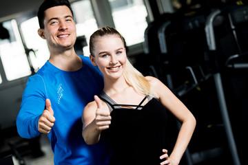 Training im Fitnesscenter