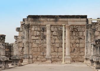 Old architecture columns