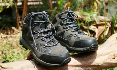Hiking boots. For day hikes or weekend backpacking trips with light loads.