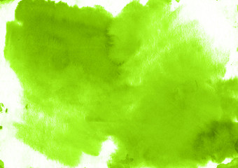 Bright green watercolor background modern texture - abstract morning light