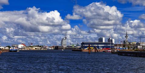 Bremerhaven Fischereihafen Panorama