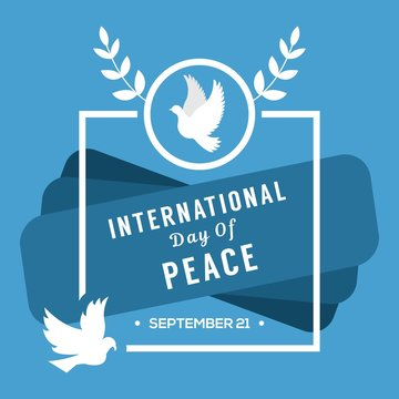 peace day illustration design