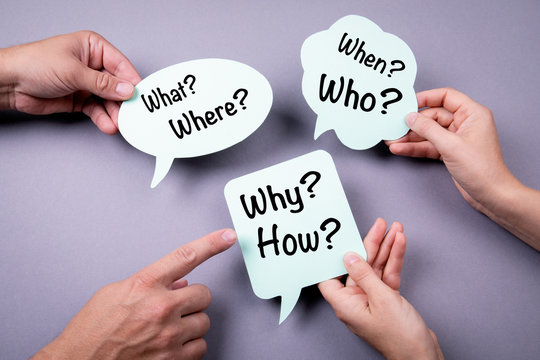 Communication concept. Speech bubble on a gray background.