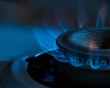 Gas Supply Flame