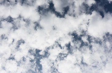 clouds against a blue sky
