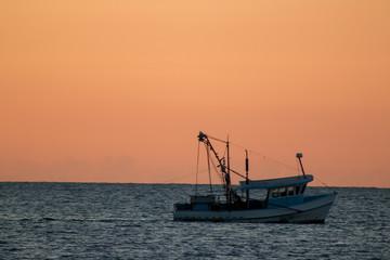 Trawler sunrise 2