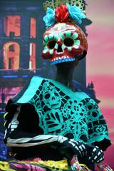 Dia de los Muertos carnival. Day of The Dead