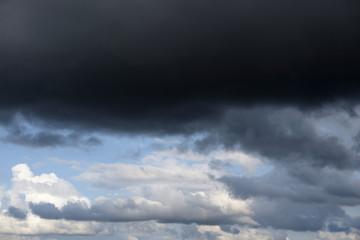 Dark cloud sky.