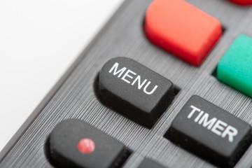 remote Control - Menu Button