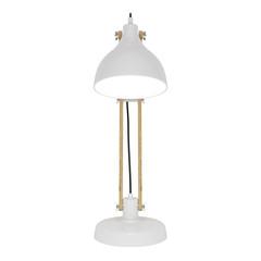 Table lamp isolated. 3D rendering.