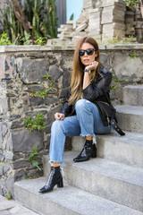 Woman fashion outdoors