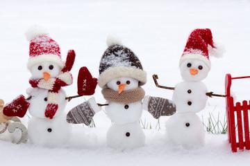 Die Schneemannbande